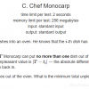Educational Codeforces Round 97 1437C Chef Monocarp
