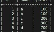 MySQL 运维 – 高阶SQL语句