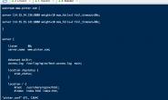 启动ngnix之后,配置文件告知第几行报错,快速查看行号小技巧~