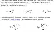 今天看到了一个 求 平面图形 Centroid 的 办法