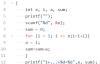C语言I博客作业03