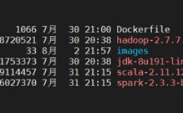 Docker环境下部署单机伪分布式hadoop环境