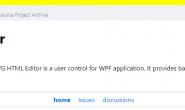 学习使用Wpf开源的文本编辑器—smithhtmleditor