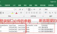 Jmeter-CSV的实例运用(参数化与数据驱动测试)