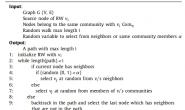 [论文阅读笔记] Community aware random walk for network embedding