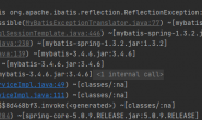 org.apache.ibatis.reflection.ReflectionException: There is no getter for property named 'leader' in 'class java.lang.Integer'