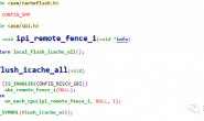 riscv – kernel –  flush & barrier
