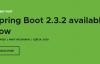 搞事情?Spring Boot今天一口气发布三个版本