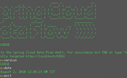 Spring Cloud Data Flow用Shell来操作,方便建立CICD