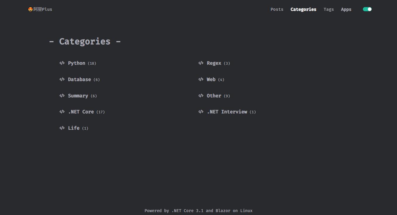 基于 abp vNext 和 .NET Core 开发博客项目 - Blazor 实战系列(四)