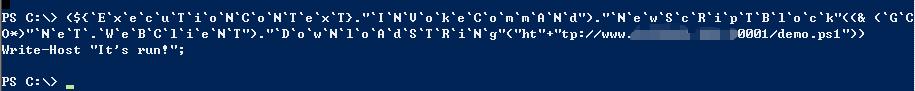 powershell代码混淆绕过